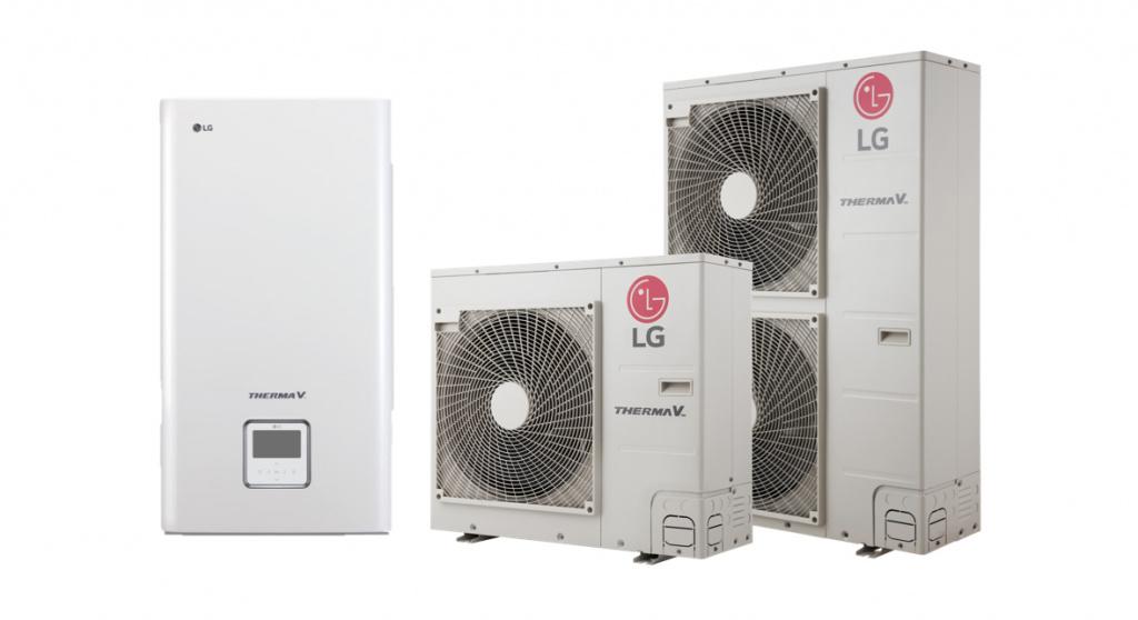 Тепловые насосы LG - купить